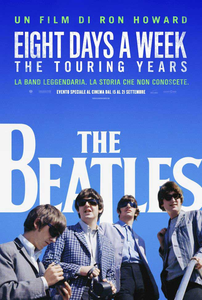 THE BEATLES - EIGHT DAYS A WEEK - BLU RAY
