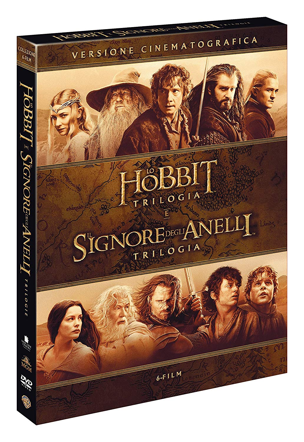 COF.SIGNORE DEGLI ANELLI / HOBBIT - 6 FILM THEATRICAL VERSION (6