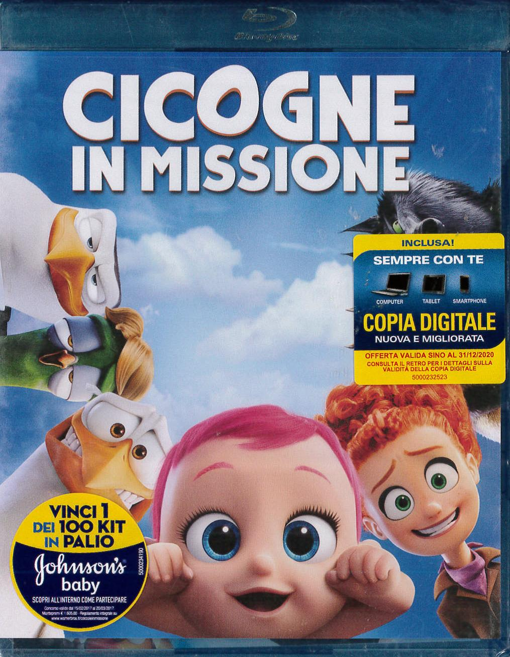 CICOGNE IN MISSIONE -BLU-RAY