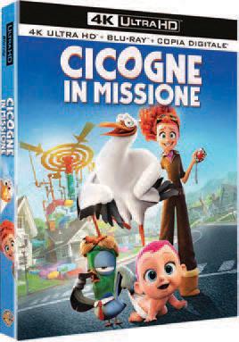 CICOGNE IN MISSIONE (BLU-RAY 4K ULTRA HD+BLU-RAY)