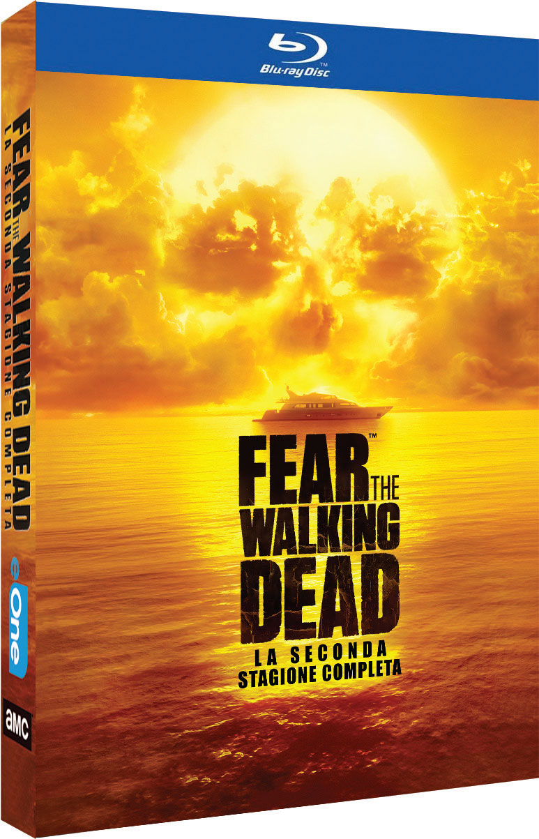 COF.FEAR THE WALKING DEAD - STAGIONE 02 (4 BLU-RAY)
