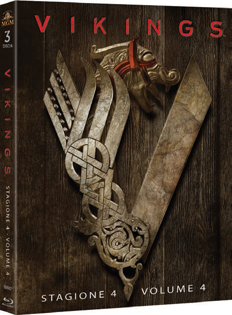 COF.VIKINGS - STAGIONE 04 #01 (3 BLU-RAY)
