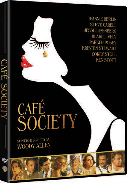 CAFE' SOCIETY (DVD)