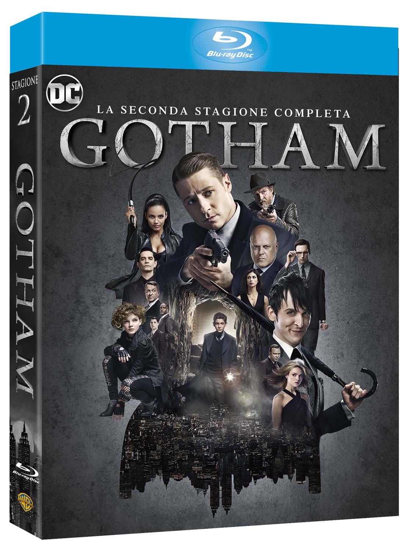 COF.GOTHAM - STAGIONE 02 (4 BLU-RAY)