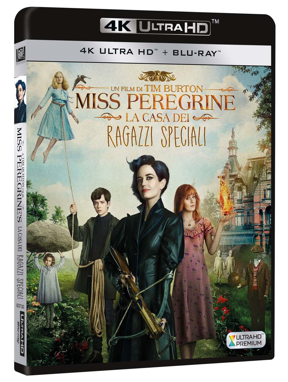 MISS PEREGRINE - LA CASA DEI RAGAZZI SPECIALI (BLU-RAY 4K ULTRA HD+BLU-RAY)