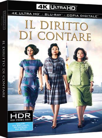IL DIRITTO DI CONTARE (4K ULTRA HD + BLU RAY)