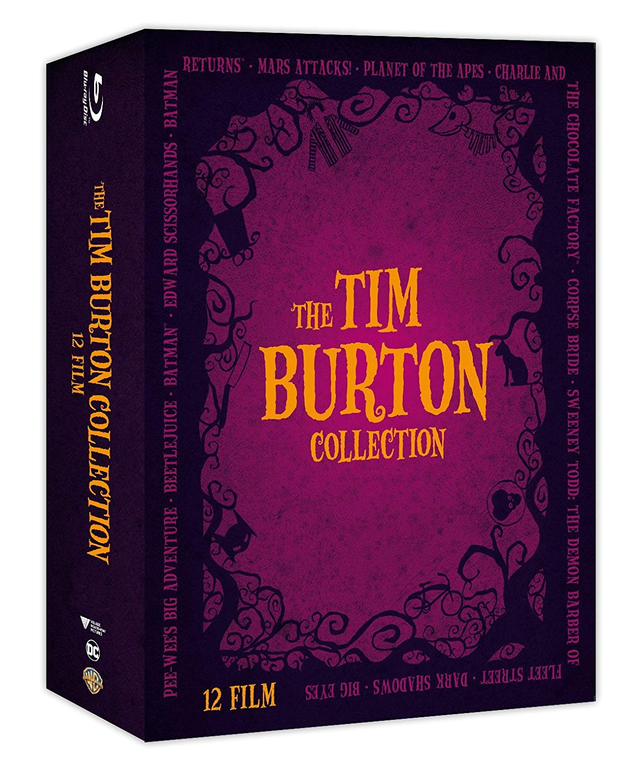 COF.TIM BURTON COLLECTION (12 BLU-RAY)