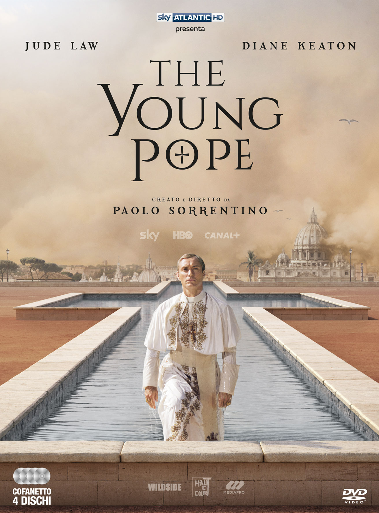 COF.THE YOUNG POPE (4 DVD) (DVD)