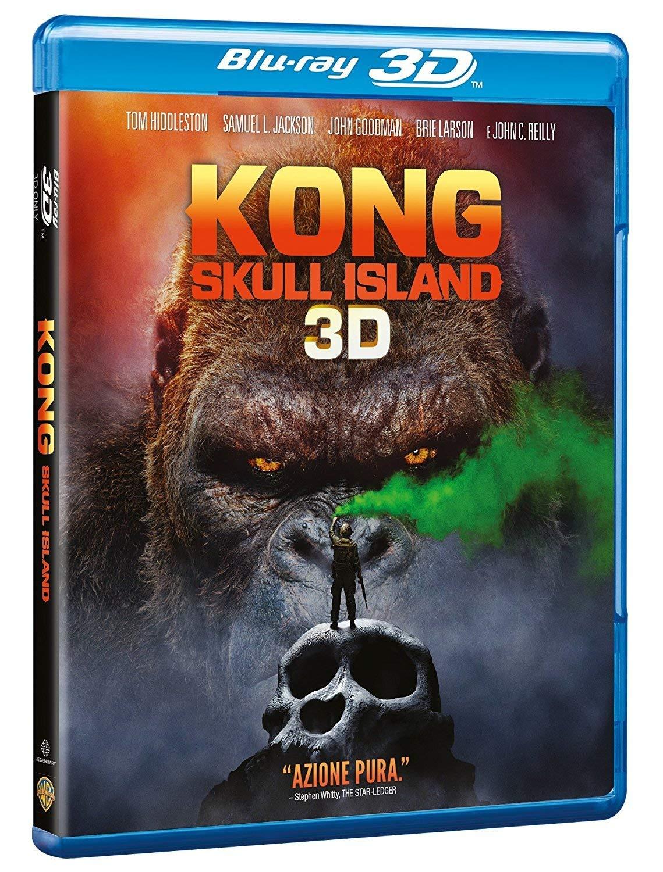 KONG: SKULL ISLAND (3D) (BLU-RAY 3D)