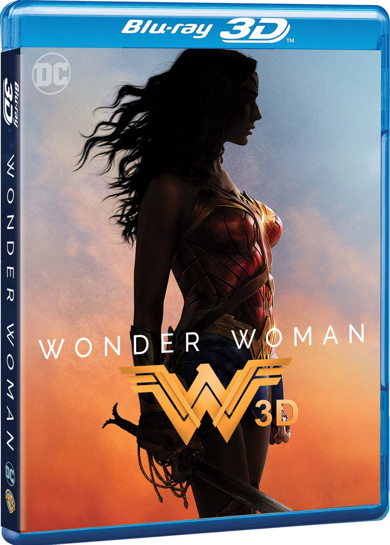 WONDER WOMAN (BLU-RAY 3D+BLU-RAY)