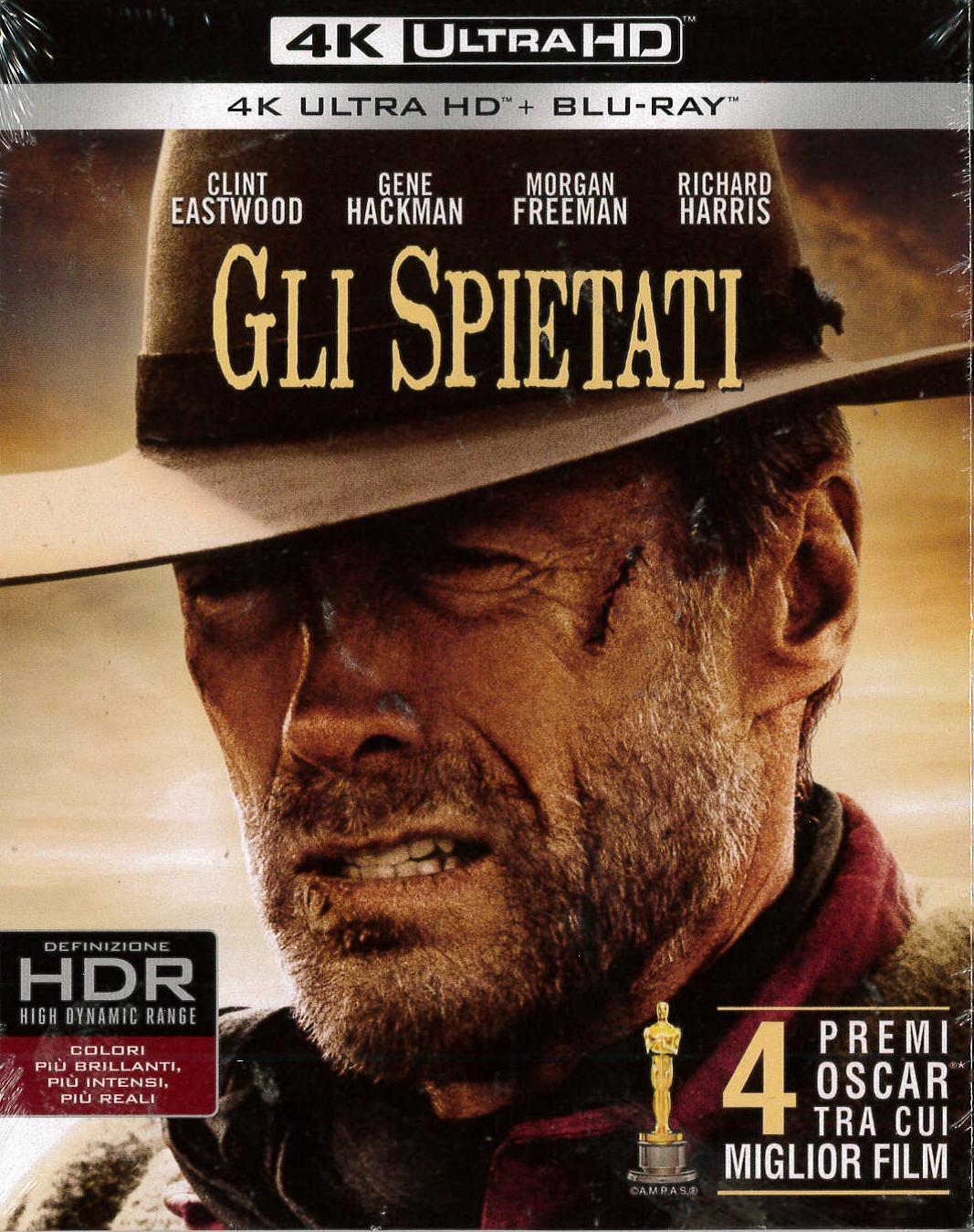 GLI SPIETATI (4K ULTRA HD+BLU-RAY)
