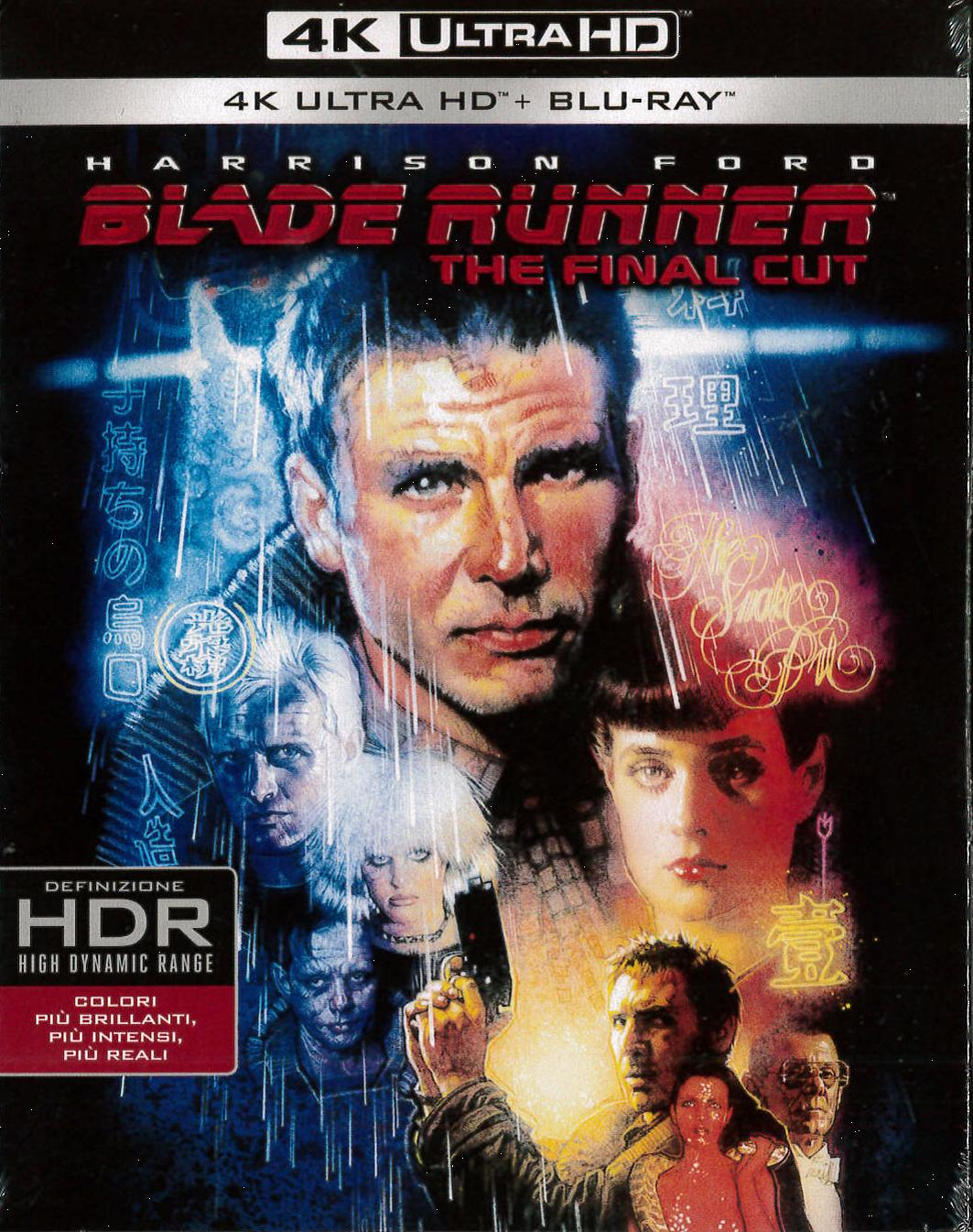 BLADE RUNNER - THE FINAL CUT (4K ULTRA HD+BLU-RAY)