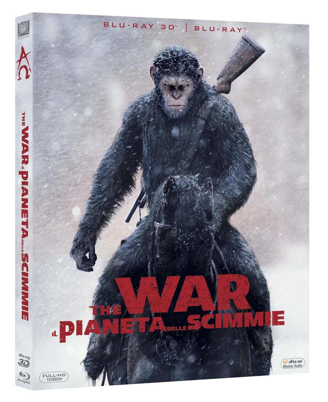 THE WAR - IL PIANETA DELLE SCIMMIE (BLU-RAY 3D+BLU-RAY)