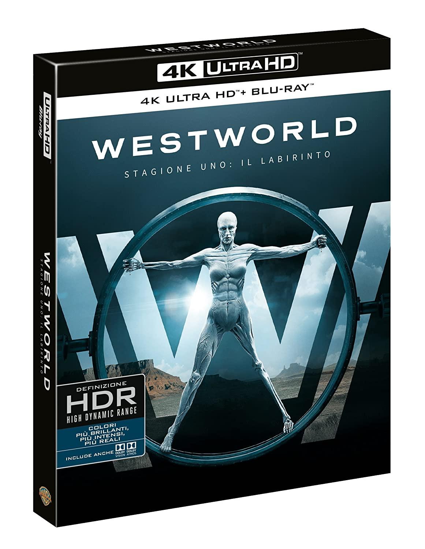 COF.WESTWORLD - STAGIONE 01 (3 4K ULTRA HD+3 BLU RAY)