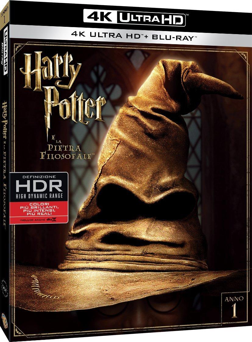 HARRY POTTER E LA PIETRA FILOSOFALE (4K ULTRA HD+BLU-RAY)