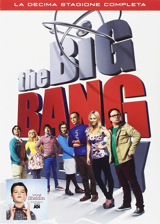 COF.THE BIG BANG THEORY - STAGIONE 10 (3 DVD) (DVD)