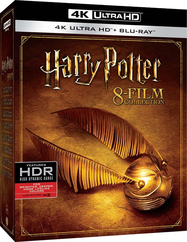 COF.HARRY POTTER - 8 FILM COLLECTION (4 BLU-RAY 4K ULTRA HD)