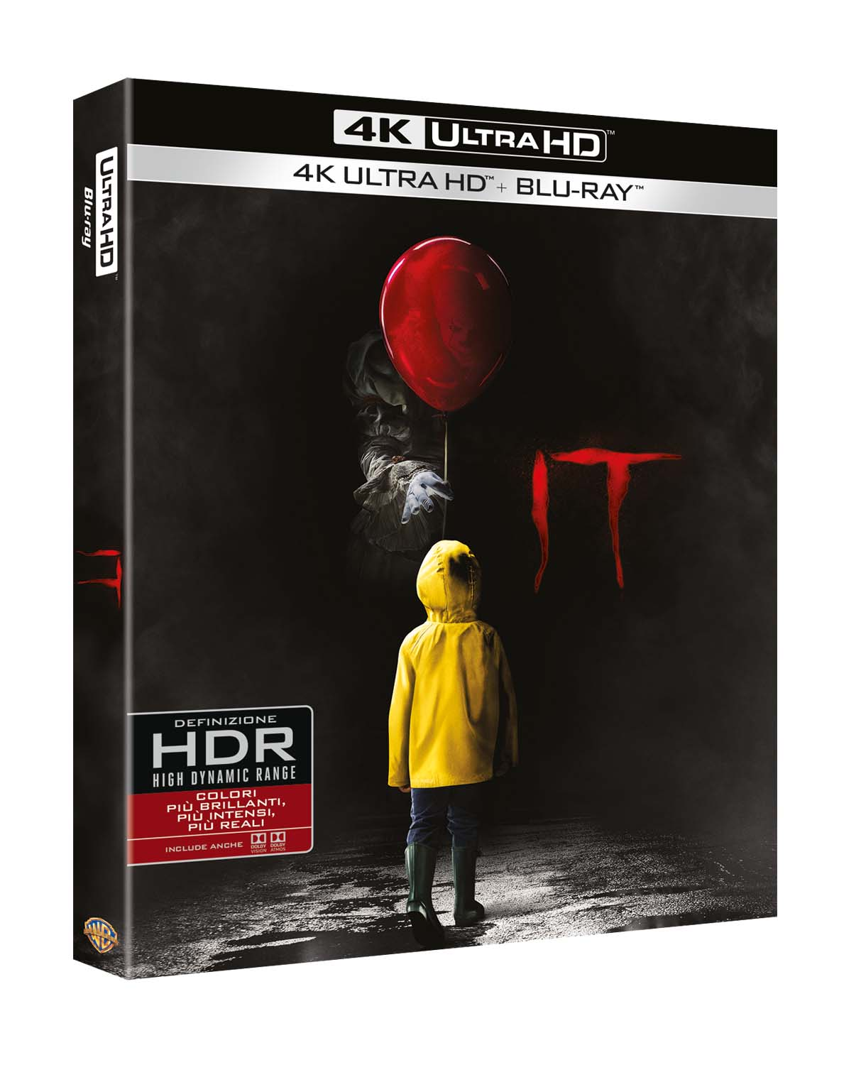 IT (2017) (BLU-RAY 4K ULTRA HD+BLU-RAY)