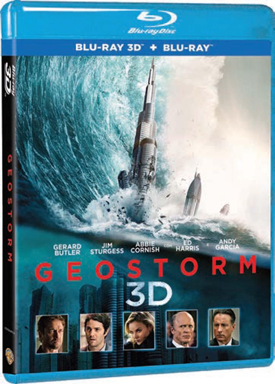 GEOSTORM (BLU-RAY 3D+BLU-RAY)