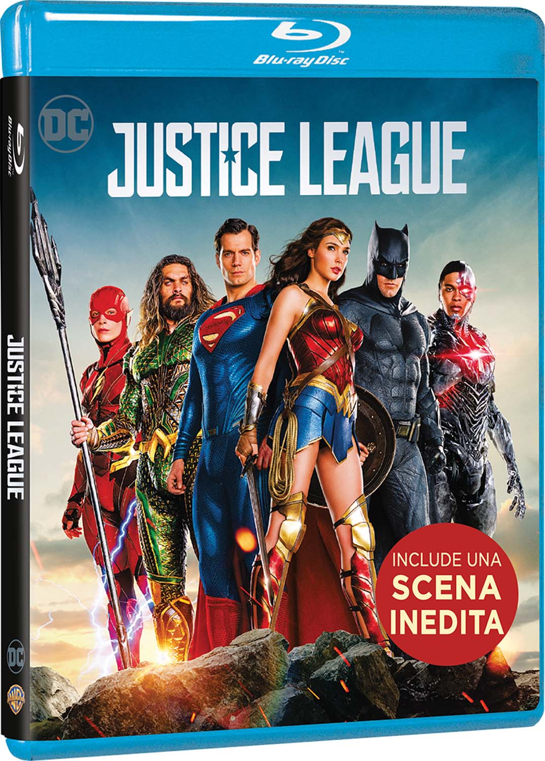 JUSTICE LEAGUE - BLU RAY