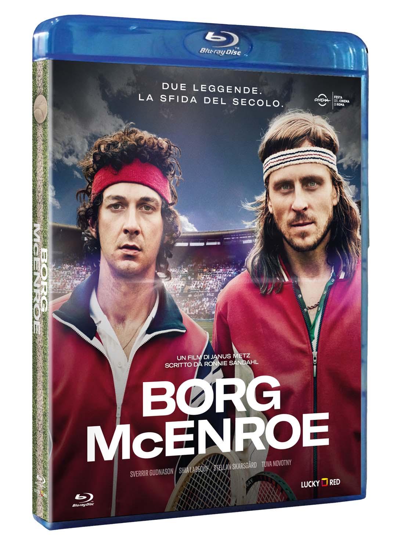 BORG VS MCENROE - BLU RAY