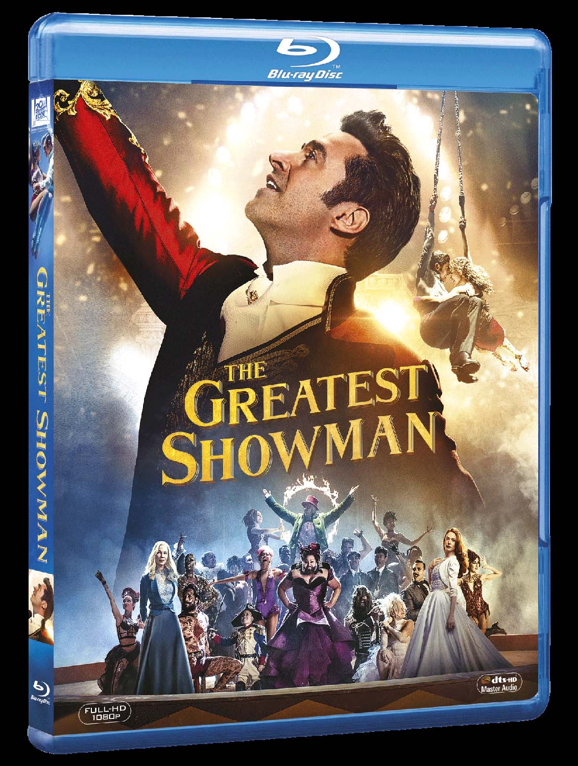 THE GREATEST SHOWMAN - BLU RAY
