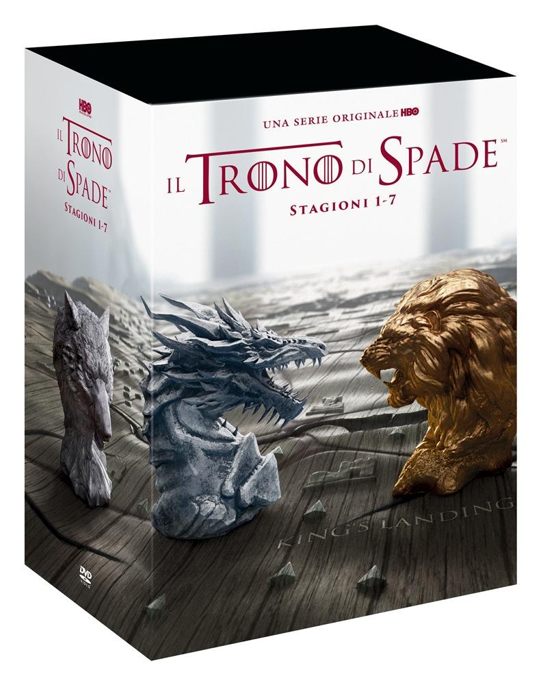 COF.IL TRONO DI SPADE - STAGIONI 01-07 STAND PACK (34 DVD) (DVD)