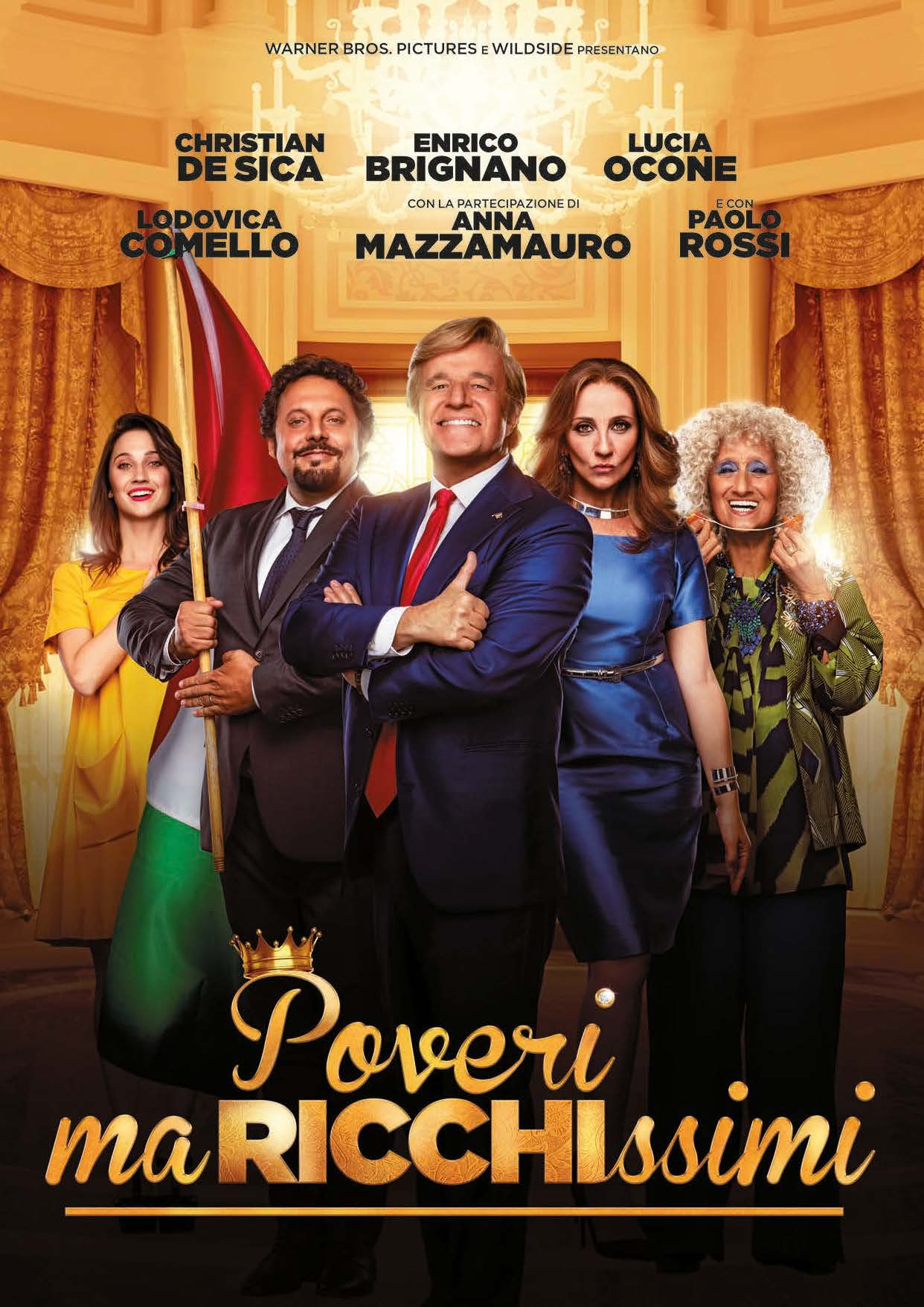 POVERI MA RICCHISSIMI (DVD) - USATO