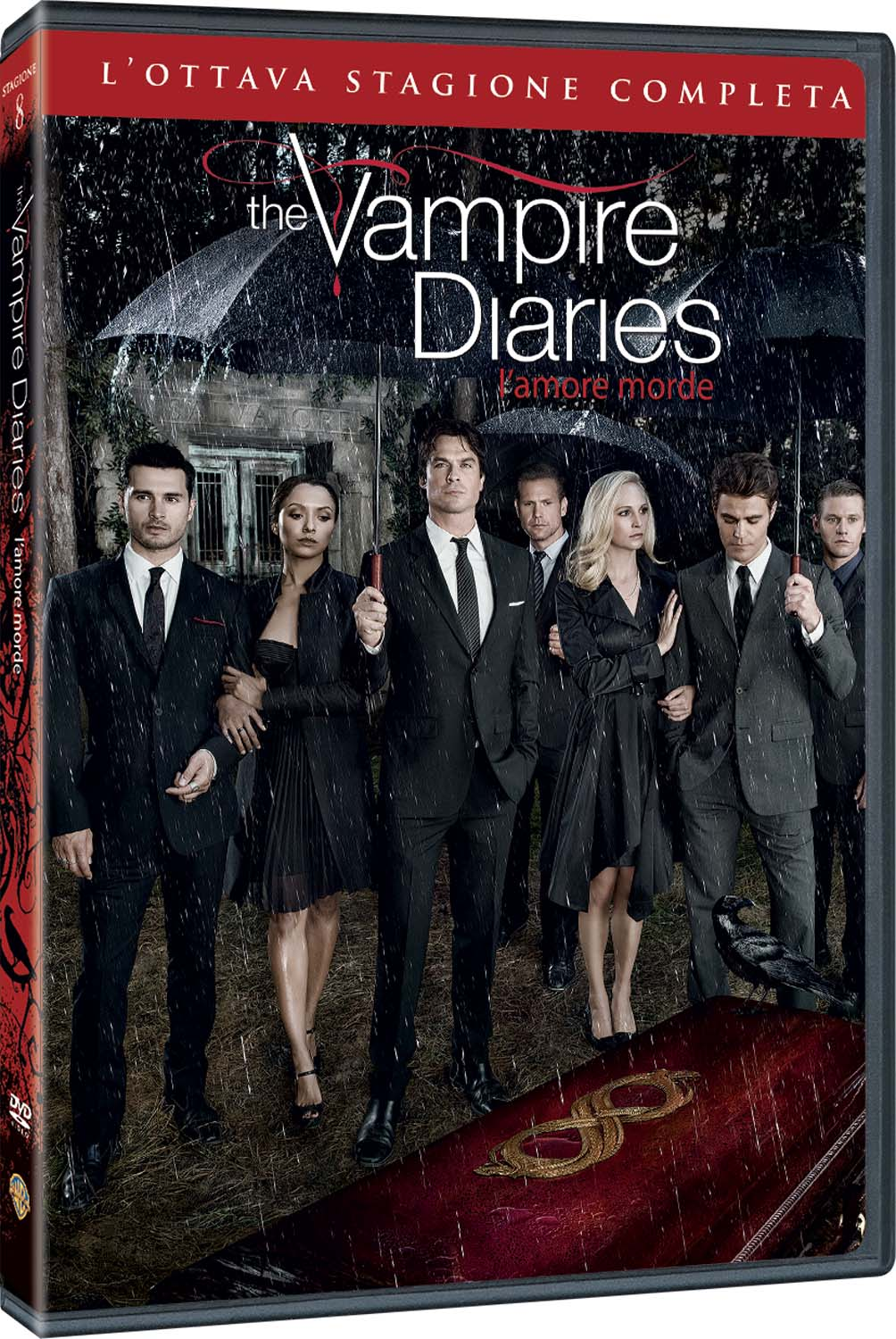 COF.THE VAMPIRE DIARIES - STAGIONE 08 (3 DVD) (DVD)