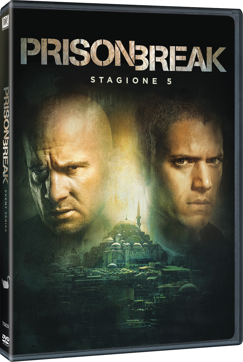 COF.PRISON BREAK - STAGIONE 05 (3 DVD) (DVD)