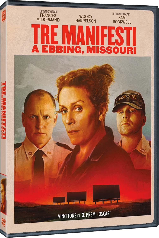 TRE MANIFESTI A EBBING MISSOURI (DVD)