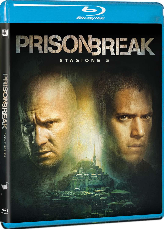 COF.PRISON BREAK - STAGIONE 05 (3 BLU-RAY)