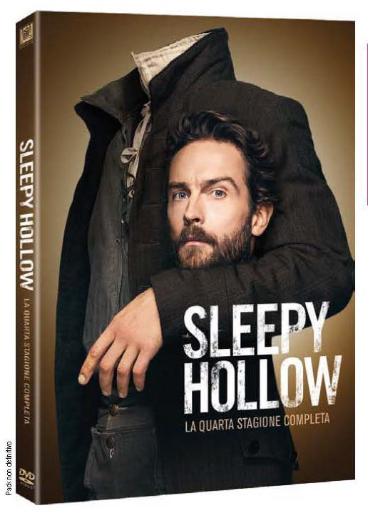 COF.SLEEPY HOLLOW - STAGIONE 04 (4 DVD) (DVD)