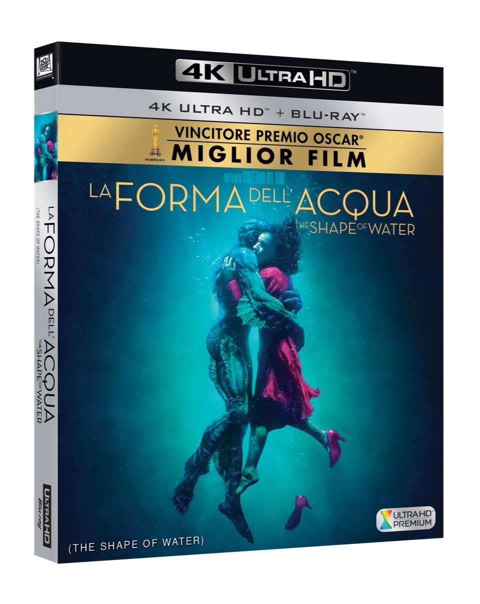 LA FORMA DELL'ACQUA (4K ULTRA HD+BLU-RAY)