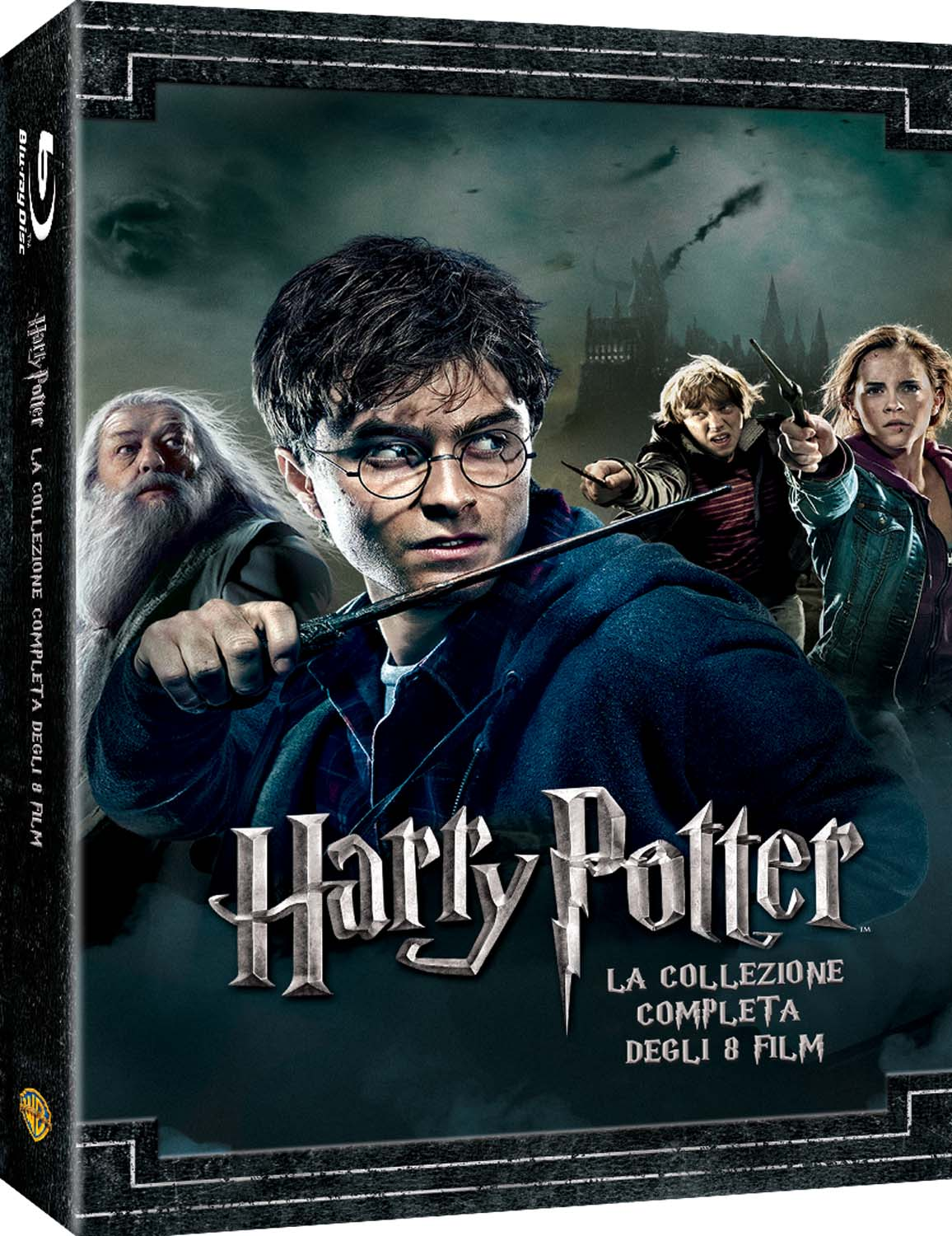 COF.HARRY POTTER COLLECTION (STANDARD EDITION) (8 BLU-RAY)