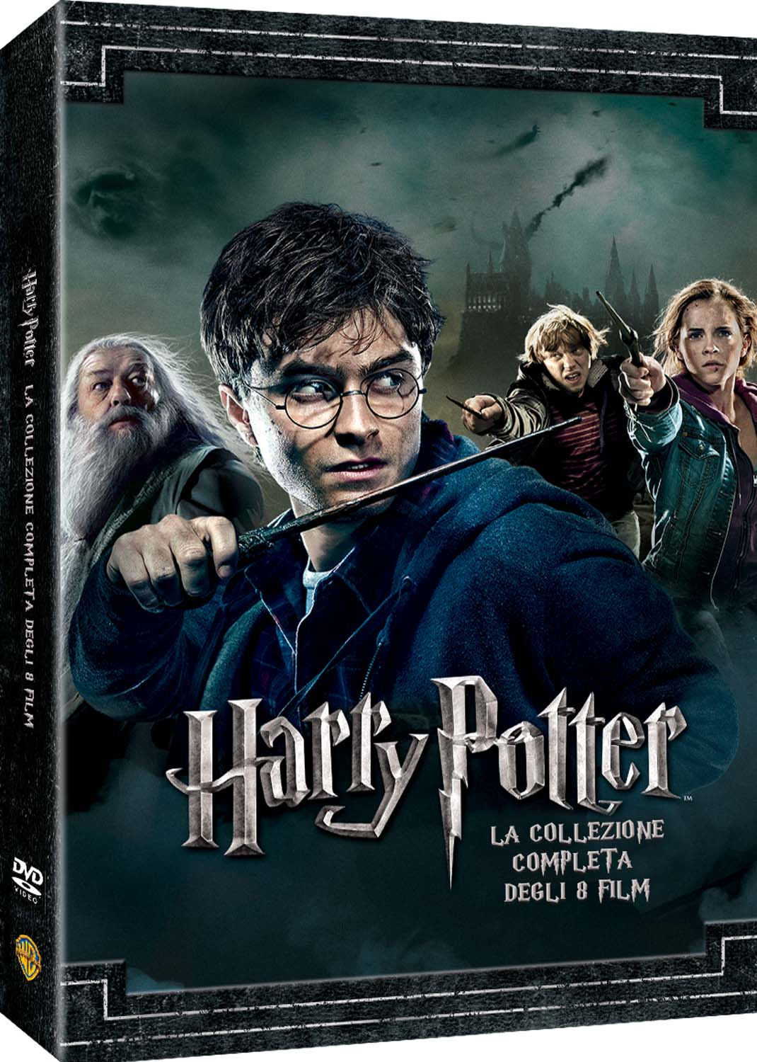 COF.HARRY POTTER COLLECTION (STANDARD EDITION) (8 DVD) (DVD)