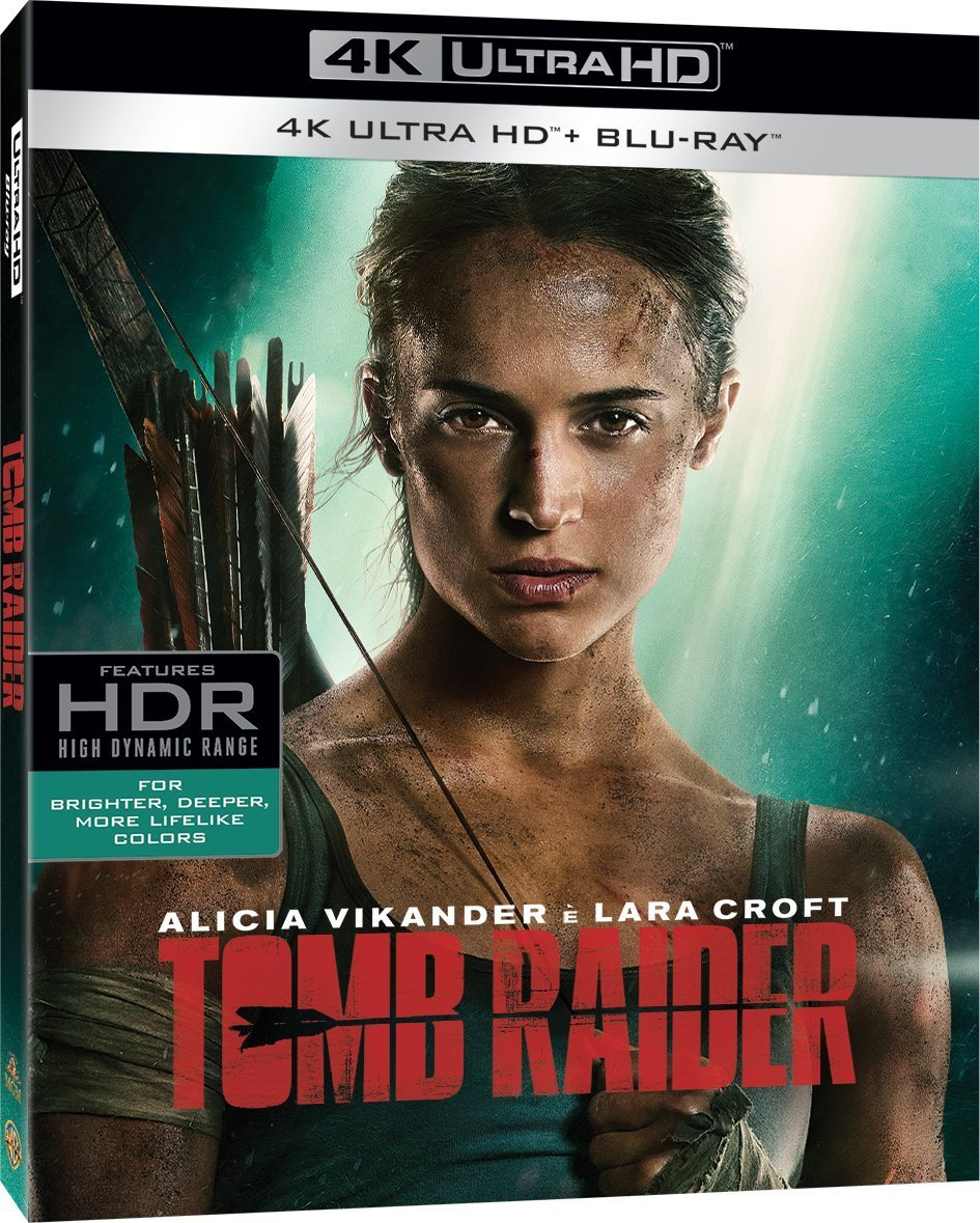 TOMB RAIDER - 2018 (4K ULTRA HD + BLU-RAY)