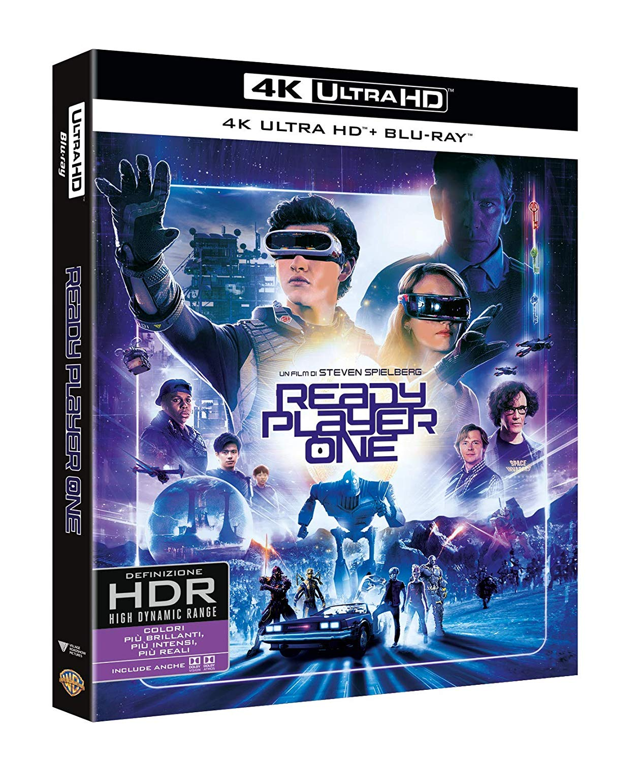 READY PLAYER ONE (4K UHD+BLU-RAY)