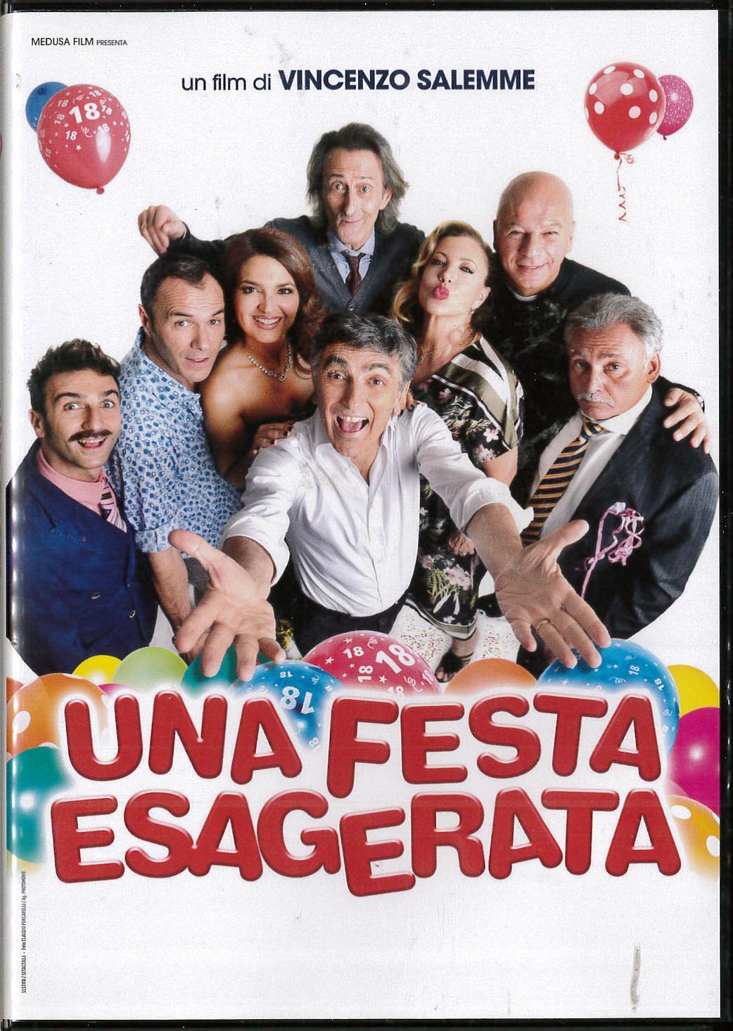 UNA FESTA ESAGERATA (DVD)