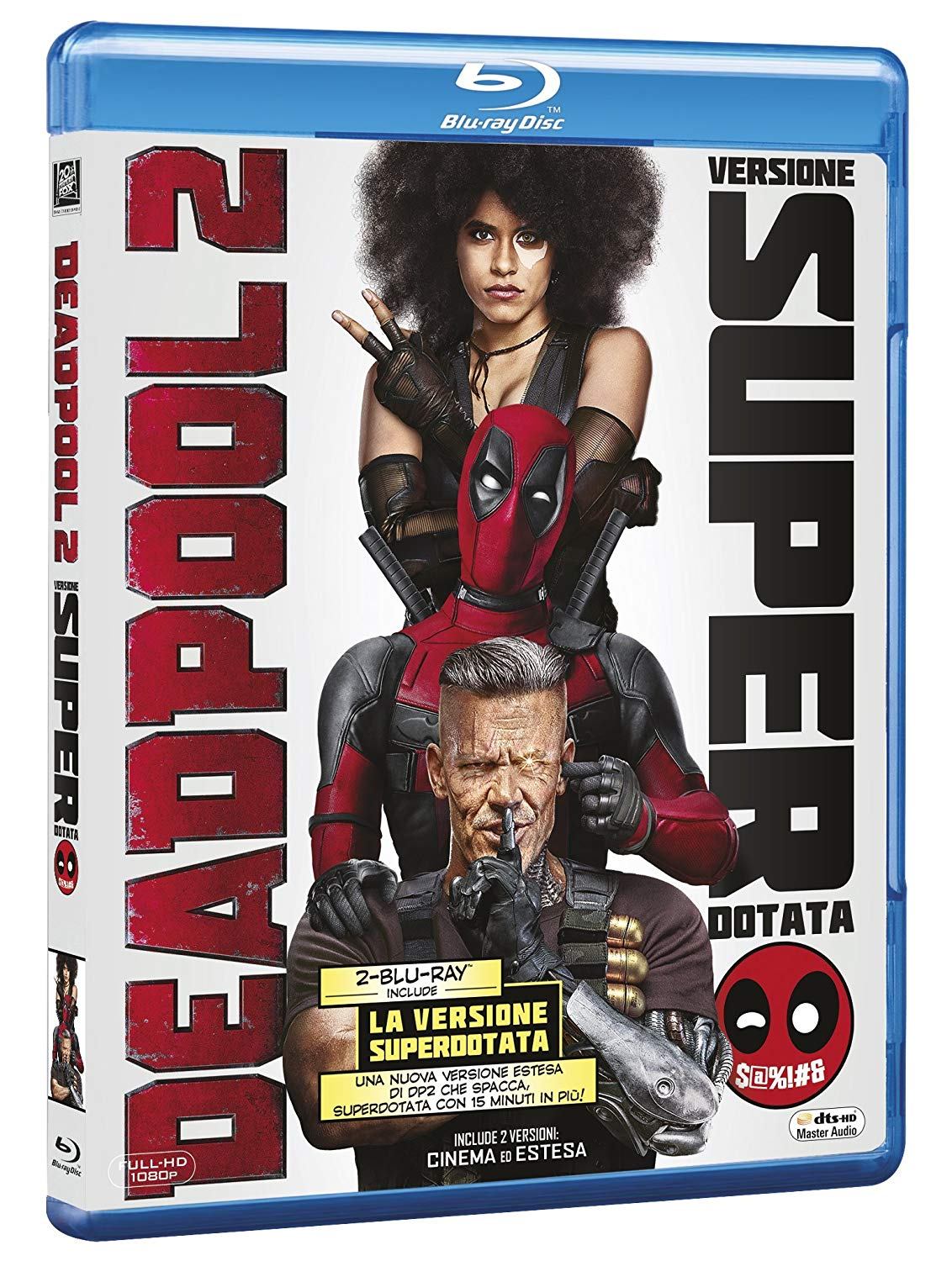 DEADPOOL 2 - BLU RAY