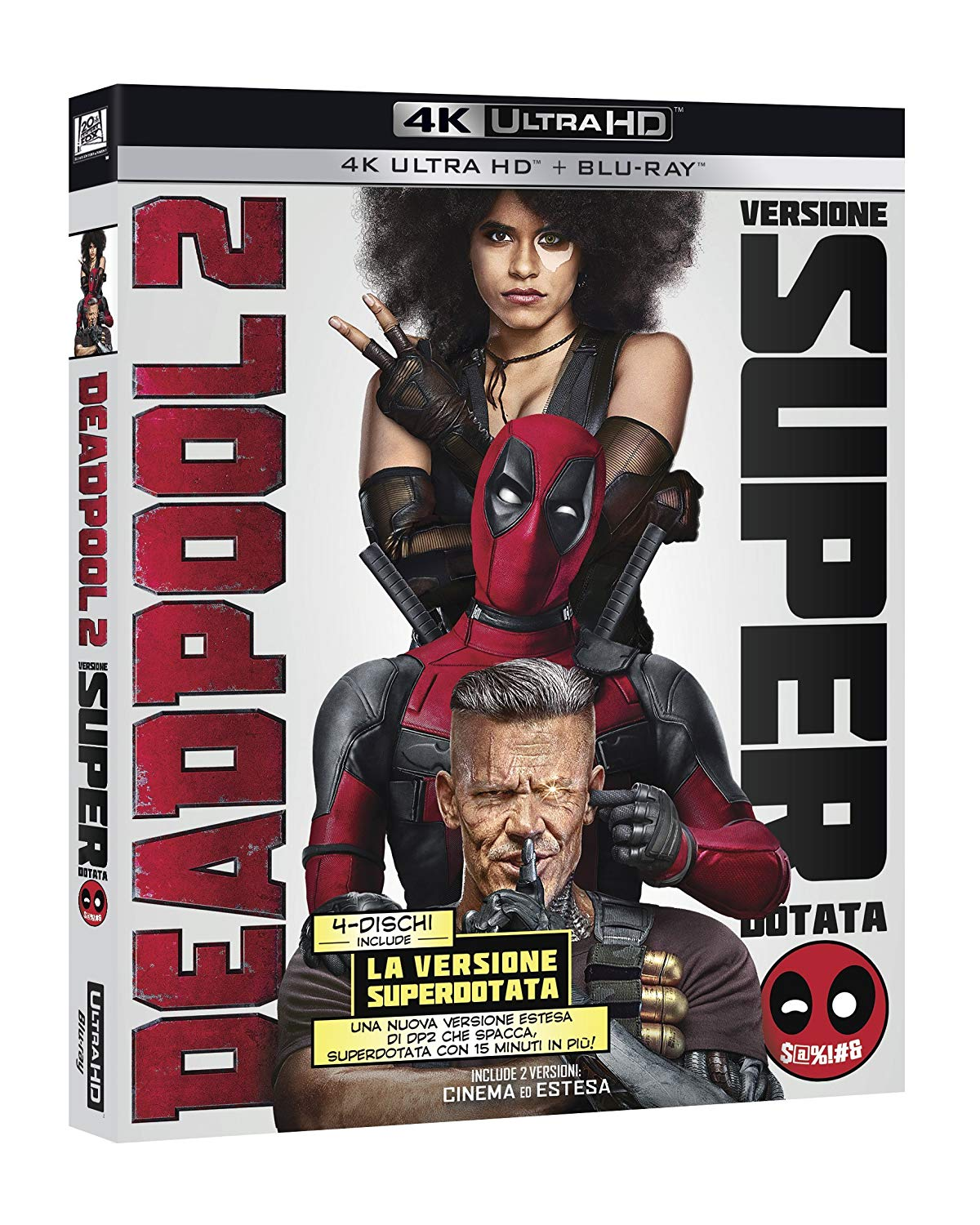 DEADPOOL 2 (BLU-RAY 4K ULTRA HD+BLU-RAY)