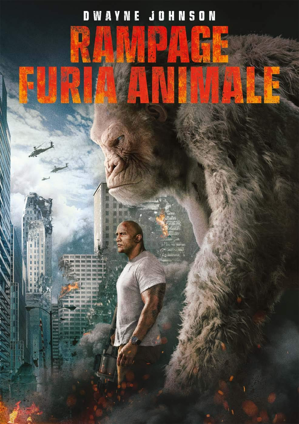RAMPAGE - FURIA ANIMALE (DVD)