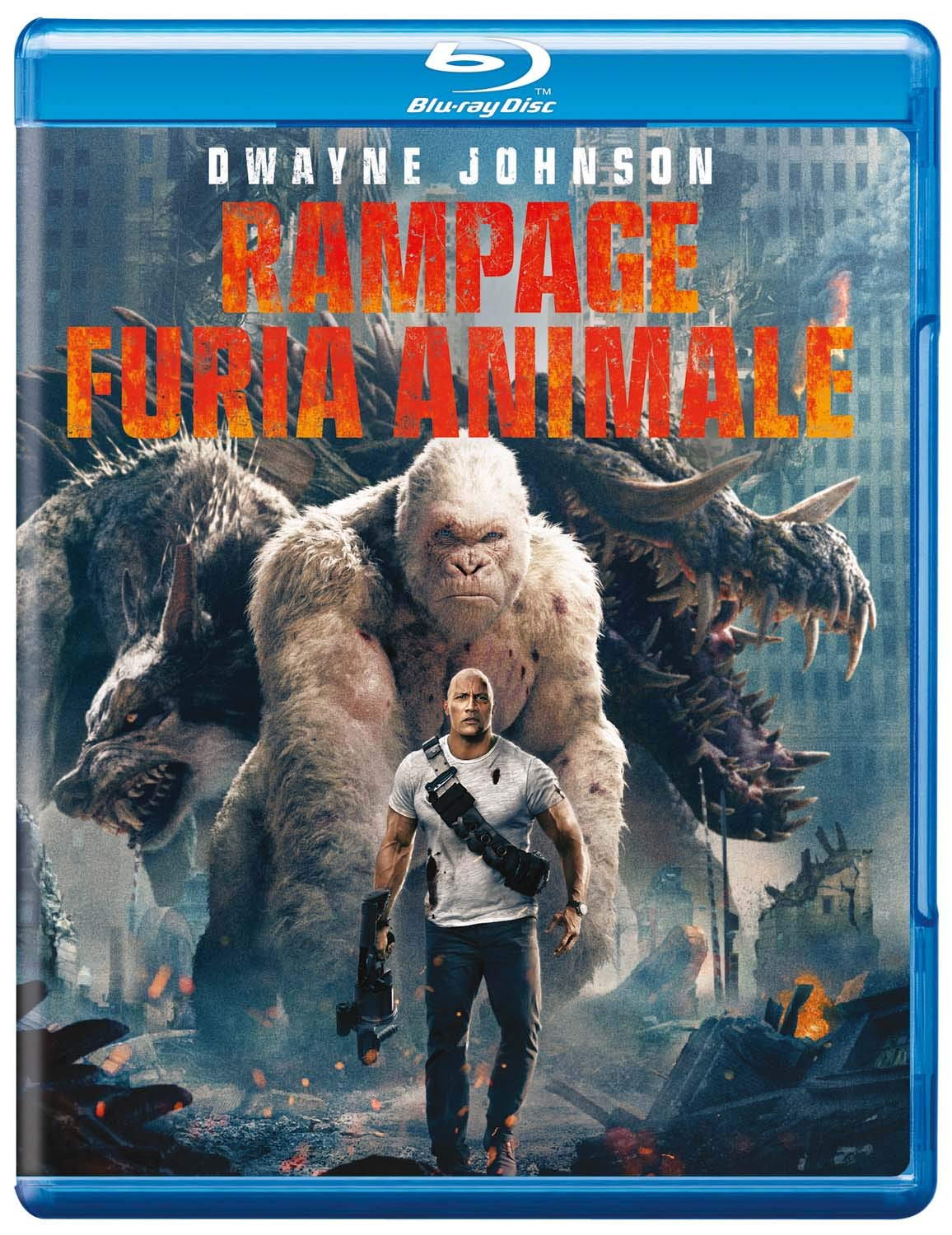 RAMPAGE - FURIA ANIMALE - BLU RAY