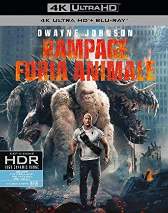 RAMPAGE - FURIA ANIMALE (4K UHD+BLU-RAY)