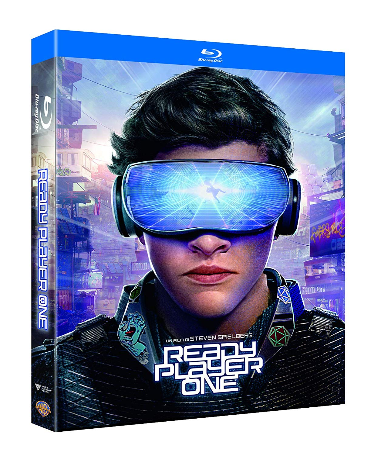 READY PLAYER ONE (LIMITED LENTICULAR O-RING) (DVD)