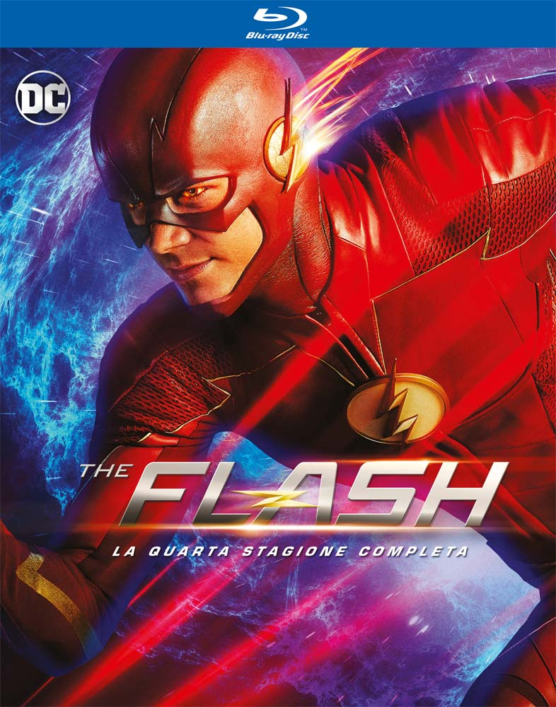 COF.THE FLASH - STAGIONE 04 (4 BLU-RAY)