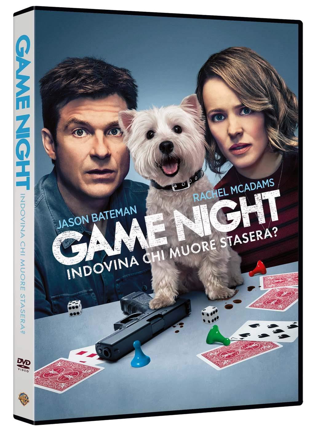 GAME NIGHT - INDOVINA CHI MUORE STASERA? (DVD)