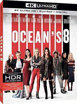 OCEAN'S EIGHT (BLU-RAY 4K ULTRA HD+BLU-RAY)