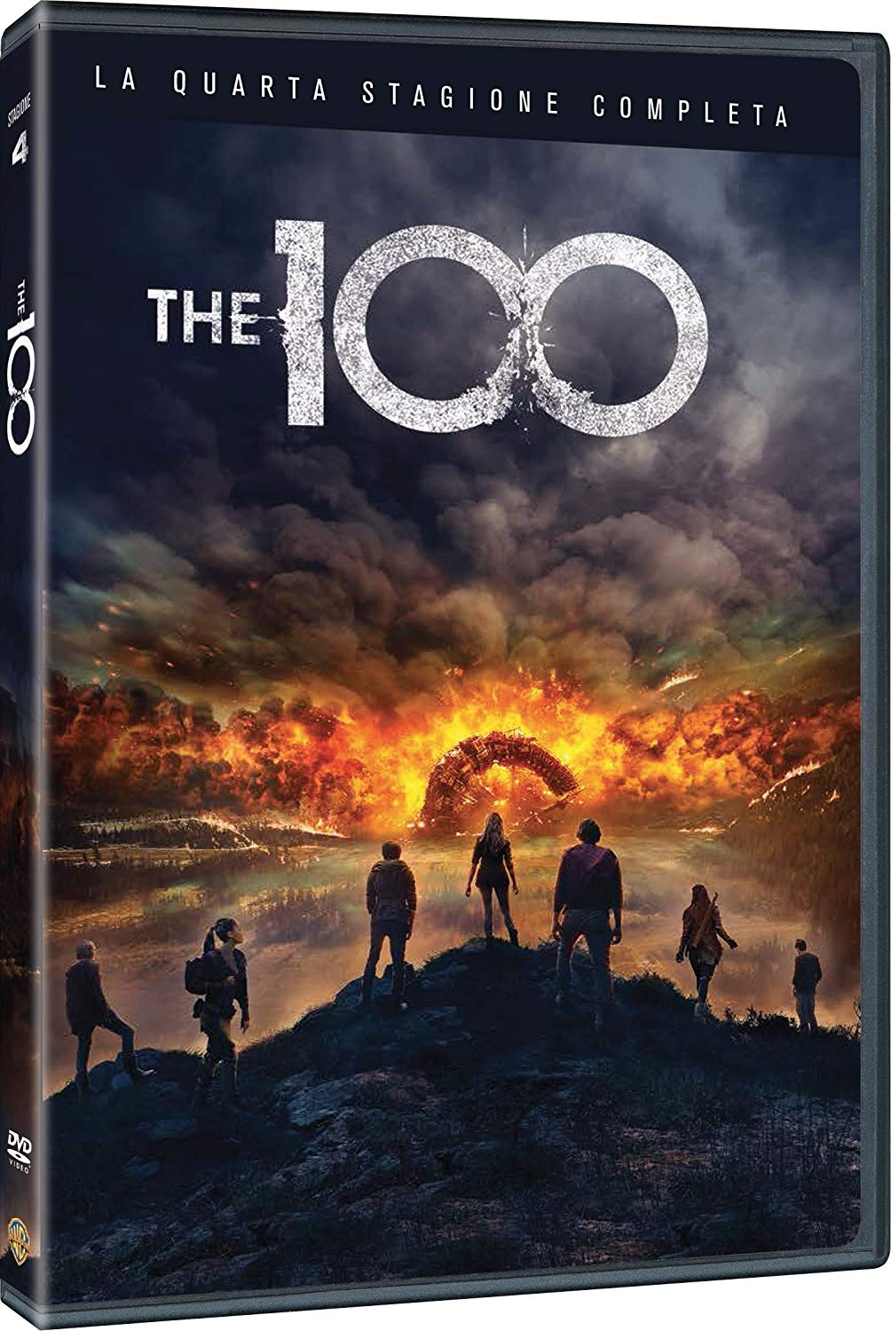 COF.THE 100 - STAGIONE 04 (3 DVD) (DVD)