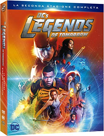 COF.DC'S LEGENDS OF TOMORROW - STAGIONE 02 (4 DVD) (DVD)